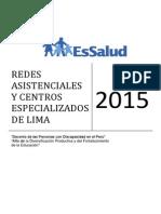 Redes de Essalud en Lima