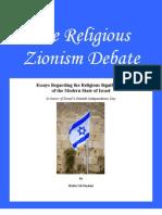 Religious Zionism Debate