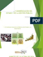 Reforma y Modernizacion Del Estado y de La