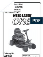 Despiece Weed Eater ONE