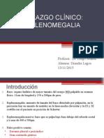 hallazgo de esplenomegalia:enfoque semiologico