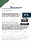 ConJur - Estado de Coisas Inconstitucional é Uma Nova Forma de Ativismo - Lenio Luiz Streck