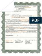Regstered Bonded Promissory Note