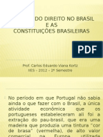 História Do Direito No Brasil