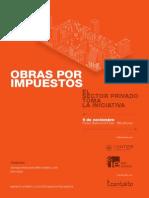 Brochure Evento Obras Por Impuestos