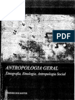 UAb - Antropologia Geral - Capitulo 1