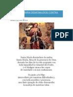 Oracion a Maria Desatanudos Contra Todo Mal