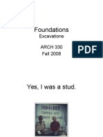Lecture 5- Foundations- Excavations