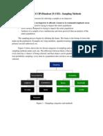 Handout 19 - Sampling Methods V20140307-1.0.0