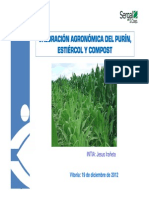 Valoracion Agronomica Del Purin, Estiercol y Compost