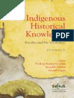 Book IndigenousHistoricalKnowledge Vol-I