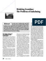 3. Drinking Grandma the Problem of Embalming
