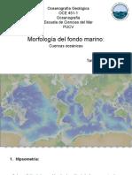 Morfología Del Fondo Marino