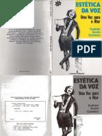 QUINTEIRO, Eudosia Acuña - Estética Da Voz - Uma Voz Para o Ator