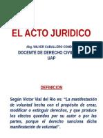 Definicion Del Acto Juridico