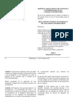 Reglamento de Concursos Universitarios 2013
