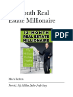 12 month real estate millionaire