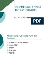Metabolisme Purin Dan Pirimidin (v)