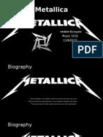 metallica powerpoint