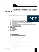 Modulo III Órganos de Los Procedimientos Sancionadores de La Cgr
