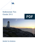 Tax Guide 2011 Indonesia