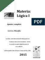 Lógica 1 - 2015