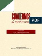 19. ARÉVALO J. VÍCTOR H. Cuadernos Archivística 1.pdf
