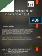 Modelo Sustitutivo de Importaciones