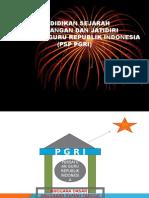Sejarah PERJUANGAN PERSATUAN GURU REPUBLIK INDONESIA (.ppt