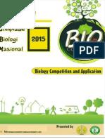 Juknis Olimpiade Biologi Unesa 2015
