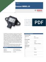 Acceleration Sensor MM510 Datasheet 51 en 9818827275pdf