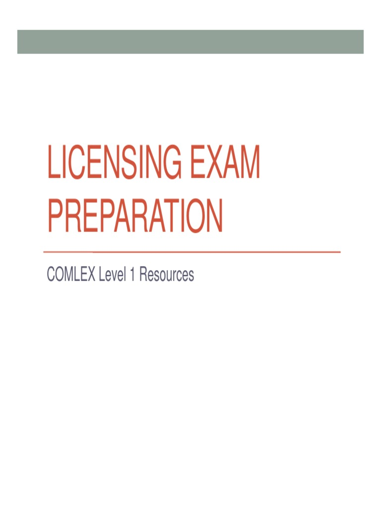Board Prep-COMLEX Level 1 Resources | United States Medical