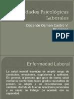 Enfermedades Psicológicas Laborales