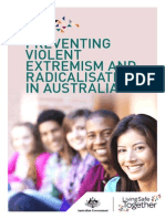 Preventing Violent Extremism and Radicalisation in Australia