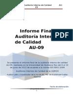 informefinalauditoriainternadecalidad-140216105900-phpapp01