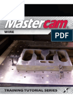 MastercamX7 Wire TrainingTutorial
