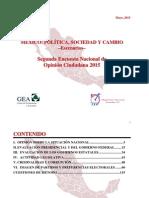 Encuesta Nacional (mayo de 2015)