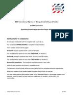IDip Unit 1 Specimen Paper 2014