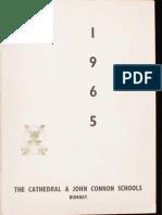 The Cathedral & John Connon School Magazine - 1965