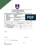 Lab Simulation Report 1