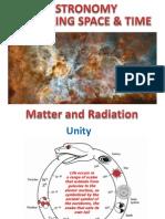 Matter and Radiation