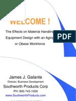 Material Handling Equipment Design