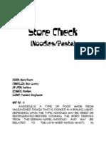 Store Check