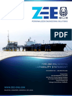 ZEE Pipeline Engineering Capability Statement