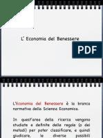 appunti economia del benessere