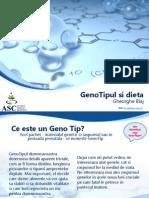 4. Mod IV GenoTipul Si Dieta