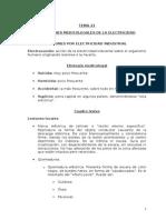 TEMA 21. Cuestiones Medicolegales de La Electricidad