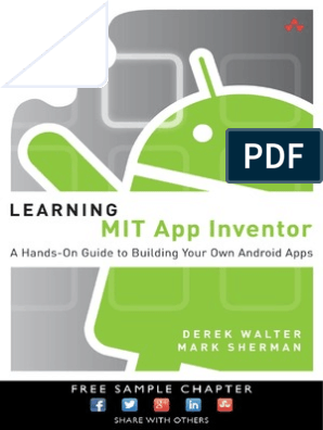 Learning MIT AppInventor pdf | Mobile App | Google Play
