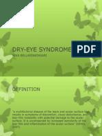 4. Dry Eye Syndrome - Dr. Bella