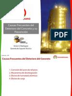 36113164 Cjhfjhfjausas Frecuentes Del Deterioro Del Concreto y Su Prevencion